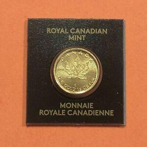 2021 - Canada 1 Gram .9999  Gold Maple Leaf Coin