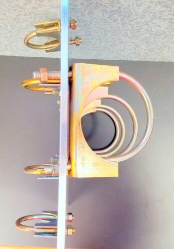 "Aluminum Antenna Plates 3/"" Mast to 2/"" Boom or opposite"