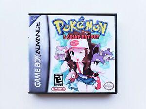 Pokemon-A-Grand-Day-Out-Gameboy-Advance-GBA-Game-Leaf-Green-Fan-Mod-USA