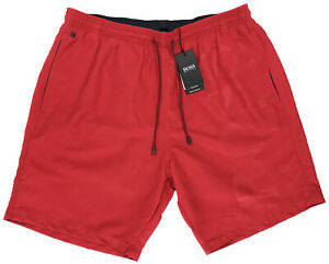 d851137dfca90 Men's HUGO BOSS Red ORCA Swim Trunks Swimsuit LOGO S Small NWT NEW ...