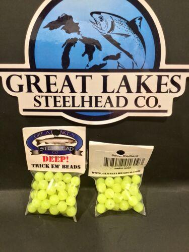 1 pack Trick-em Fish Beads Deep Series Color Radiant 8 mm