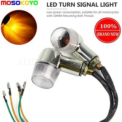 UNIVERSAL MOTORCYCLE TURN SIGNAL LIGHTS FOR HONDA Z50 CF 50//70 CT70 ST 50//70//90