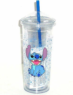 Disney Lilo Stitch Acrylic Travel Tumbler Reusable Straw Cup Theme Park Dome Lid 400006717658 Ebay