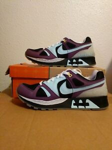 b2f2ef1f9b4b78 2005 Nike Air Max STAB FOOTPATROL 1 BLACK SKYLIGHT BLUE PURPLE ...