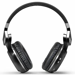 Bluedio T2SBCA001 Turbine T2S Wireless Headset, Black