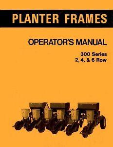 allis chalmers 300 s 2 4 6 r planter operators manual ebay rh ebay com Allis Chalmers Planter Units History Allis Chalmers Planters