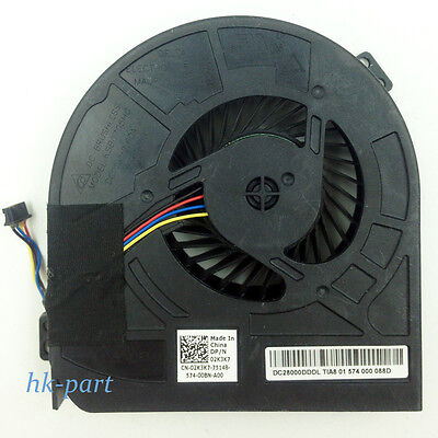 Twins CPU GPU Cooling fans for Dell Precision M4800 00WGVF 02K3K7