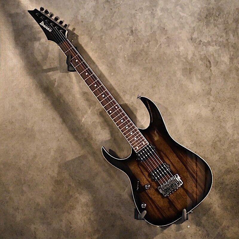 Ibanez Left Handed Prestige RG652WFXL Anvil Grey Burst Lefty Guitar