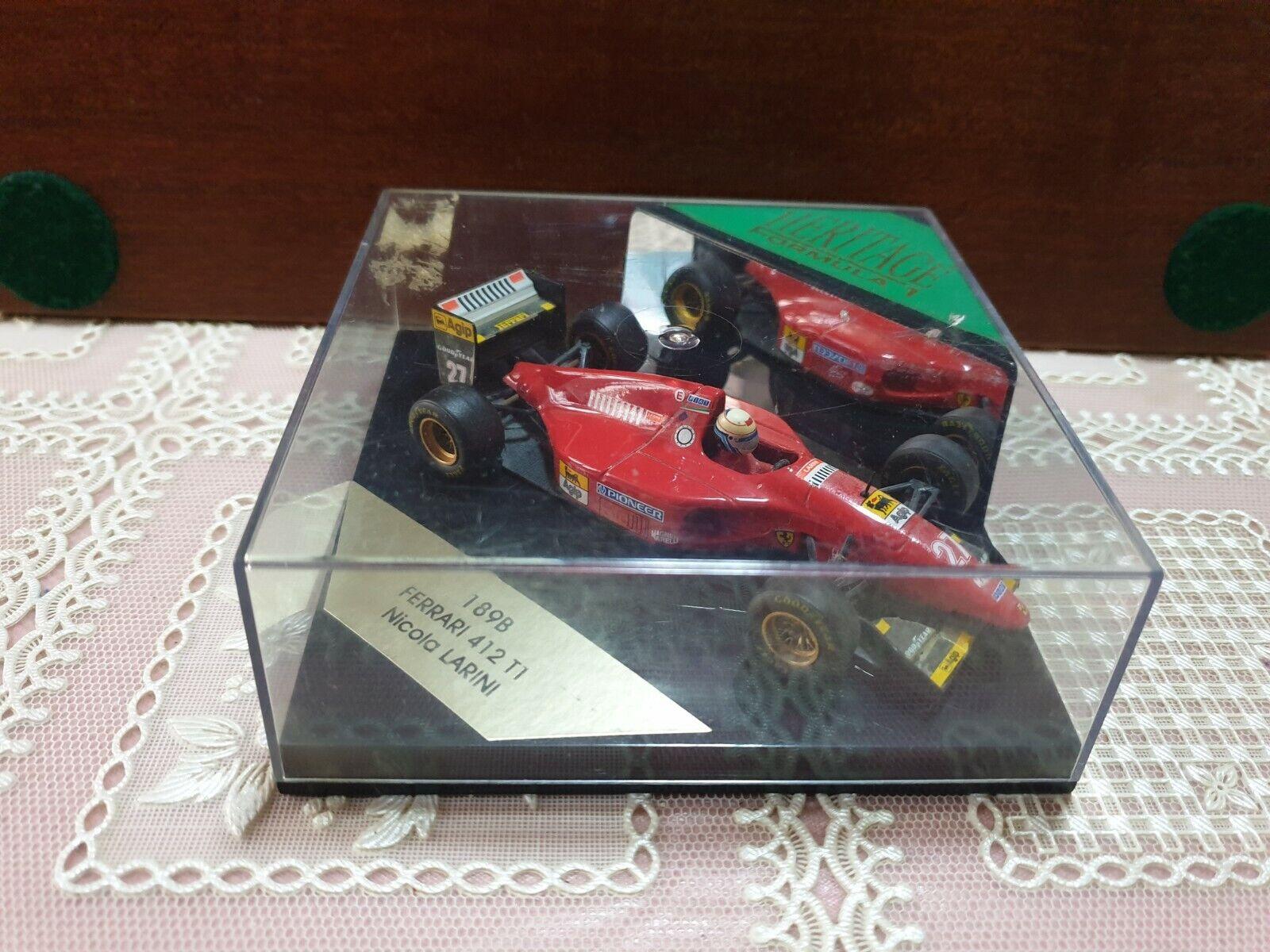 Model Ferrari 1 43 Ferrari 412 T1 Nicola Larini 1994 Quartzo