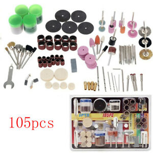 105Pcs-Mini-Electric-Drill-Grinder-Rotary-Tool-Grinding-Polishing-Set-BN