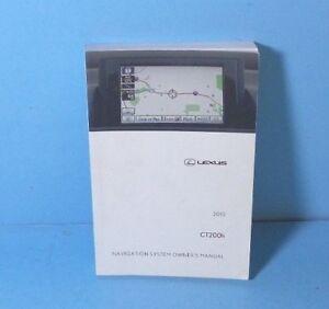 lexus ct200 owners manual