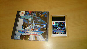 GRADIUS-jeu-NEC-PC-Engine-import-JAP-shoot-cib