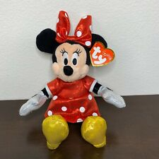 Ty Beanie Baby MWMT Holiday Outfit - Walgreens Exclusiv 7 Inch MINNIE MOUSE