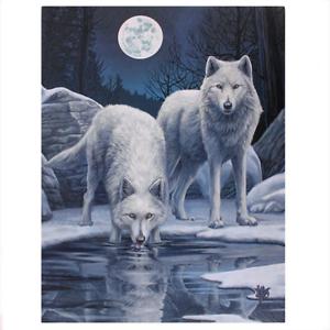 Lisa-Parker-canvas-print-of-Winter-Warriors