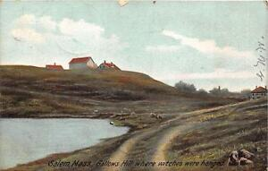 GALLOWS-HILL-SALEM-MASSACHUSETTS-WHERE-WITCHES-WERE-HANGED-DPO-POSTCARD-1906
