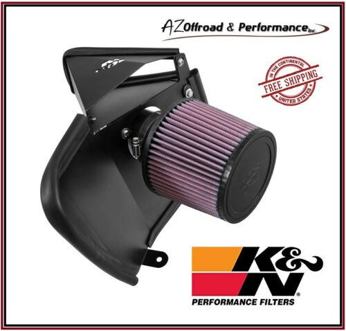 K/&N 69 Series Typhoon Air Intake System For 14-15 Audi A4 A5 A6 2.0L L4 Turbo