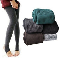 Winter Warm Women Lady Skinny Slim Stretch Pants Thick Tights New SK