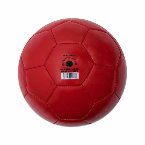RED Size 4 Champion Sports Extreme Soft Touch Butyl Bladder Soccer Game Ball