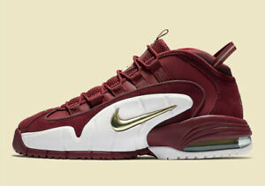229a5034d3 Nike Air Max Penny 1 HOUSE PARTY TEAM RED WHITE GOLD 685153-601 sz 9 ...