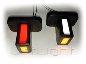 2x-LED-Umrissleuchten-Neon-Positionsleuchte-LKW-Begrenzungsleuchten-24V-12V