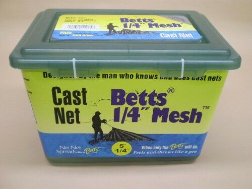 Betts Series 1 4  Mesh Cast Net 5'  Casting Net 25-5  order now with big discount & free delivery