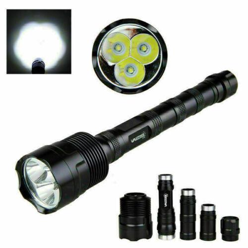 Jagdlampe XML 3x T6 LED Taschenlampen Taktisch Fackel Super hell 3800LM Licht