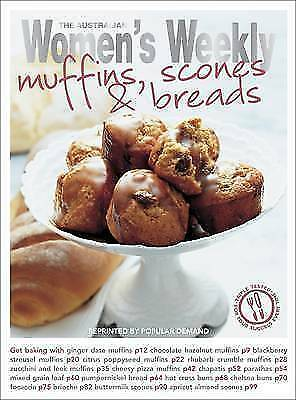 1 of 1 - Muffins, Scones & Bread (The Australian Women's Weekly Essentials), , Good Used