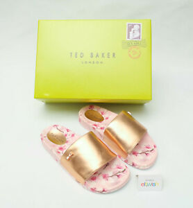TED-BAKER-BEAUTIFUL-AVELINE-PINK-SOFT-BLOSSOM-SLIFERS-SANDALS-UK-SIZE-3-BNIB
