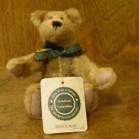 Boyds Plush 57252-08 Kelly O. Beary, From Retail Store, Mint/tag 6.5
