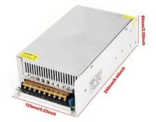600W DC 12V 50A Regulated Transformer Power Supply Driver SW For LED Strip Light