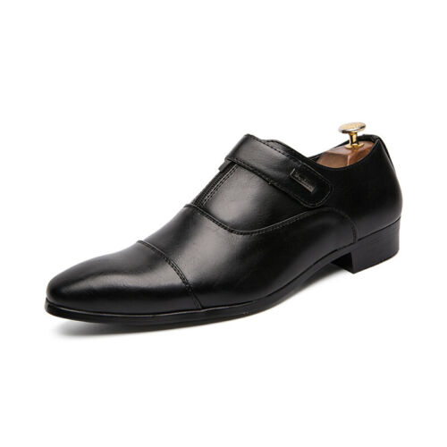 Details about  /Men/'s Dress Formal Shoes Leisure Leather Lace up British Pointy Toe Business New