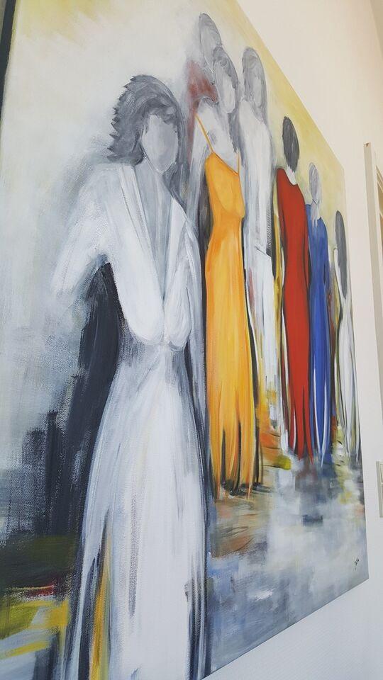 Akrylmaleri, b: 100 h: 100