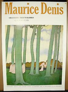 Poster-Original-1970-Maurice-Denis-1870-1943-Orangerie-Of-Tuileries-Expo