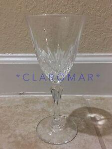 Image is loading SALZBURG-Cristal-de-Flandre-Lead-Crystal-Wine-Glass-