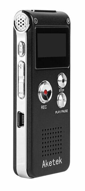 AGPtek® Multifunctional Rechargeable 8G 8GB 650HR Digital A