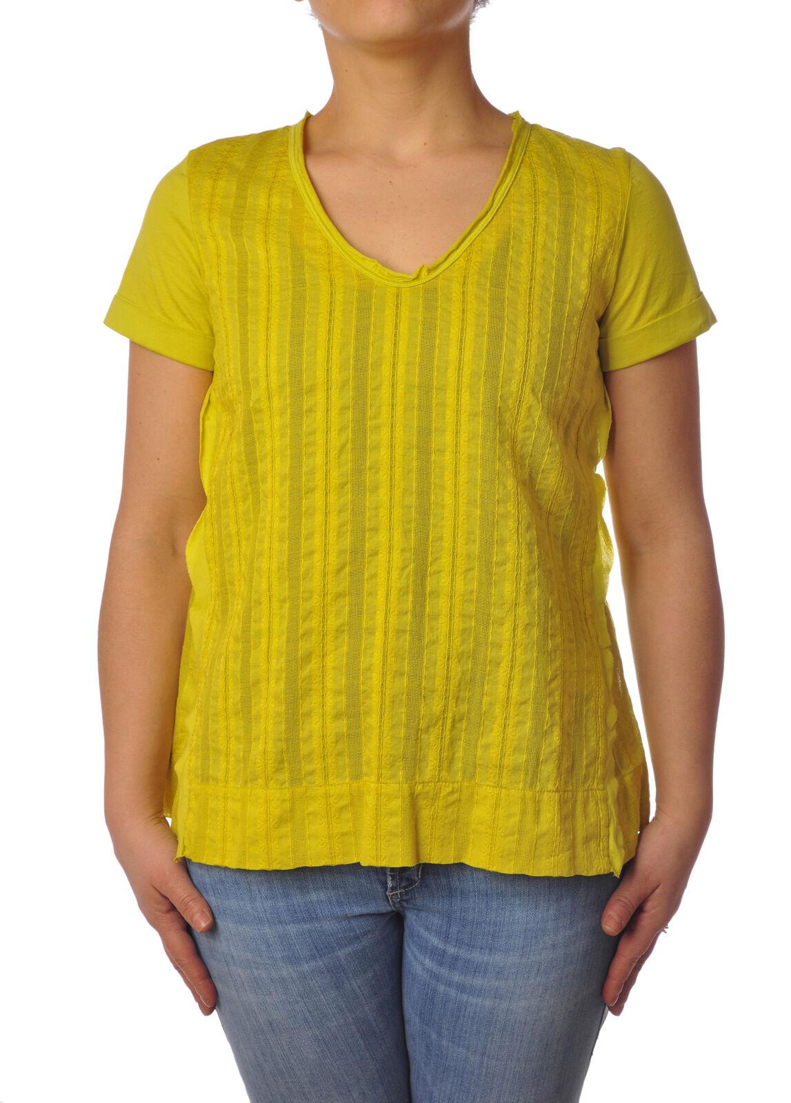 Garage Nouveau - Shirts-Blouses - Woman - Gelb - 4976726F181347
