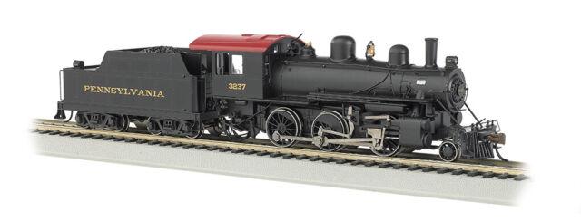 Bachmann 51707 HO Pennsylvania Alco 2-6-0 Steam Locomotive & Tender #3237