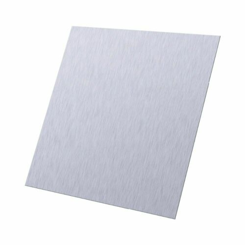 100×100×0.5mm  High Purity Zinc Zn Sheet Plate Metal Foil Home DIY Science LAB