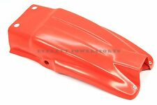 New Rear Fender 83-87 Honda XL600 R Flash Orangish/Red Mud Guard #X160