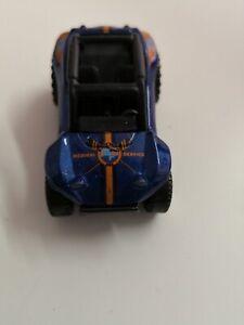 MATCHBOX-Baja-BANDIT-BUGGY-BLU-2007-MB-731-vetrina-modello-da-collezione