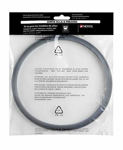 Bra a990932-gasket-silicone rubber for pressure cookers bra monix capacity 4