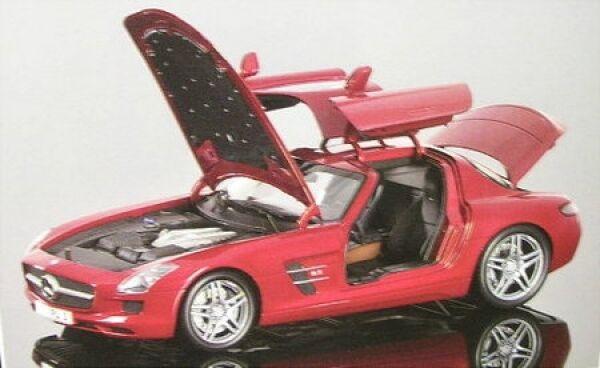 Mercedes-benz SCS AMG (rojo Metallic) 2010