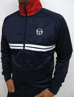 Sergio Tacchini - Dallas Track Top in Navy White & Red / McEnroe Young Line