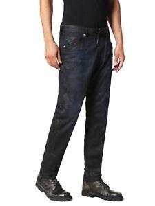 Diesel-Men-039-s-Army-Camo-Denim-Sweat-Jogger-Stretch-Jeans-Narrot-0686J