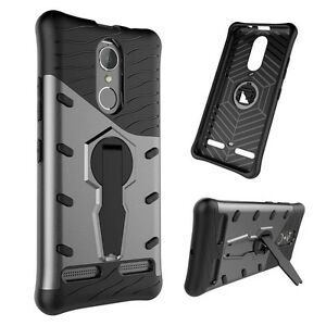 reputable site 2204a 5dfcd Details about For Lenovo k6 Power Shockproof Rugged Armor Hybrid Case 360  Stand Cover