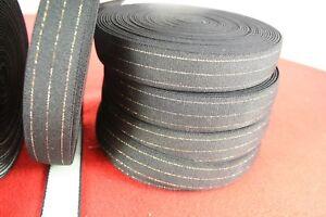 Borte 50 mm breit Zierband 1 Meter GUMMIBAND weiß mit Rüsche