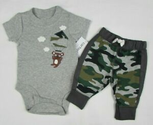 Baby Boy Clothes 18 Months Carter S 2 Piece Pant Set New With Tags Ebay