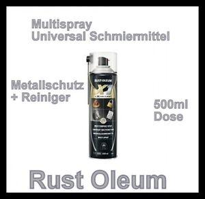 6-Dosen-Rust-Oleum-X1-Universal-Schmiermittel-Multispray-500ml-Reiniger-Kriechoel