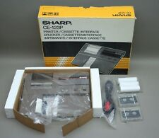 SHARP CE-123P Printer/Cassette Interface for Pocket Computer Complete