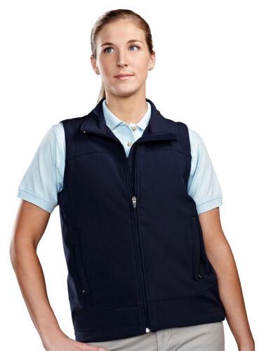 Shell mountain Pockets Winter Zippered Women's Tri 6410 Water Resistant Vest Bpqwan1x